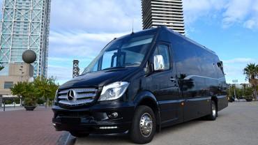 Traslado en Minibús Mercedes Sprinter